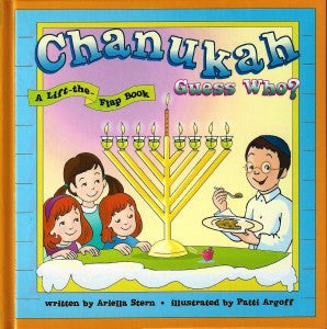 Chanukah Guess Who? Lift the flapbook