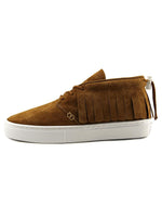 Clear Weather One-O-One Mens Midtop Sneaker Honey Suede CRW-101-CO