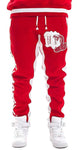Mens Designer Mamushi Jogger Pants True Red Sweatpants 36052