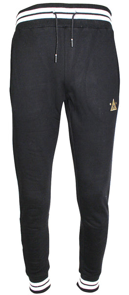 Karl Kani Men's Fleece Jogger Pants KK1737 Black