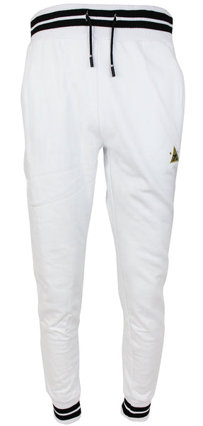Karl Kani Men's Fleece Jogger Pants KK1737 White