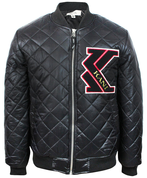 Karl Kani Men's Quilted Insulated Zip up Jacket KK1709