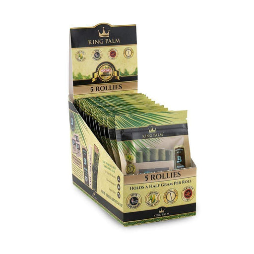 King Palm Rollies 5 Pack With Boveda Pack