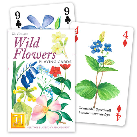 Wildflower Playing Cards