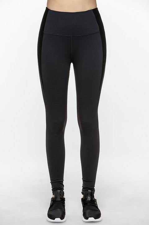 Accordion High Waisted Leggings - Titika Active Couture™ (Hong Kong)