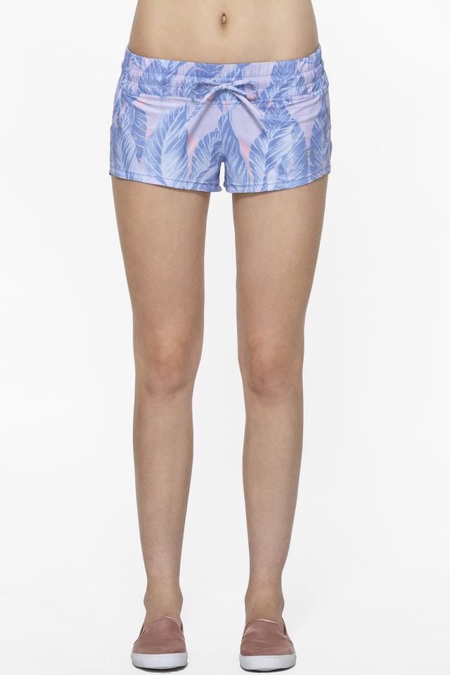 Bolt Blue Garden Graphic Short - Titika Active Couture™ (Hong Kong)