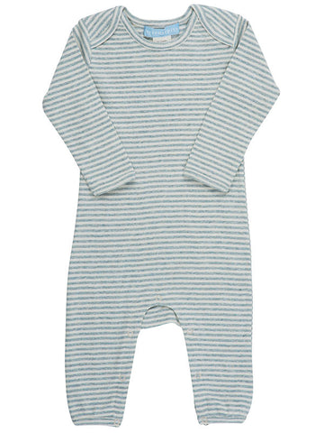 Striped romper - BebeThreads - 1
