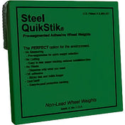 AA Steel Quikstik Wheel Weight