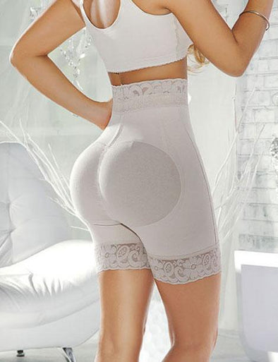 High Waisted Butt Lift Short W/ Silicone Band