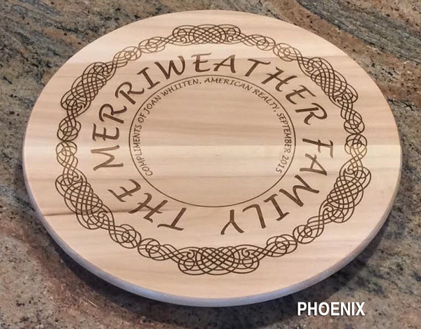 Personalized Lazy Susan - Click for design choices