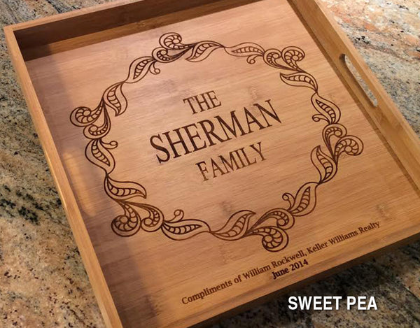 Personalized Square Tray - Click for design choices