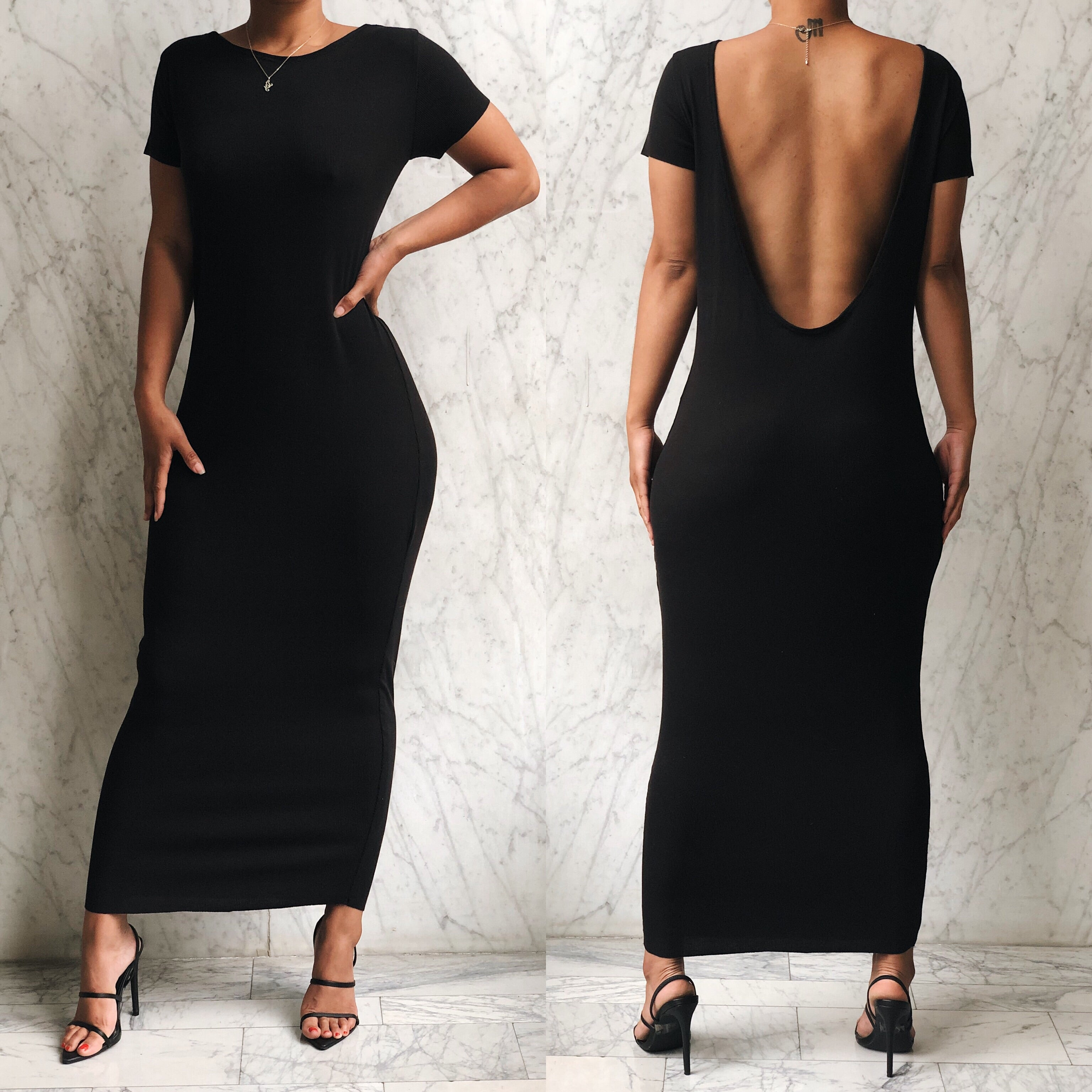DANA DRESS BLACK