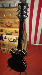 Vintage 1976 Memphis Les Paul Custom Copy Black Beauty