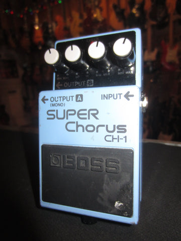 Pre-Owned Circa 2010 Boss CH-1 Super Chorus