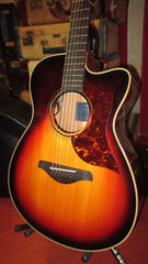 Pre-Owned Circa 2017 Yamaha AC3M Cutaway Acoustic Electric Guitar