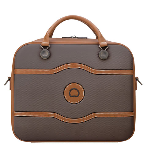 Delsey Chatelet Air Cabin 48hrs Chocolate Tote Travel Bag