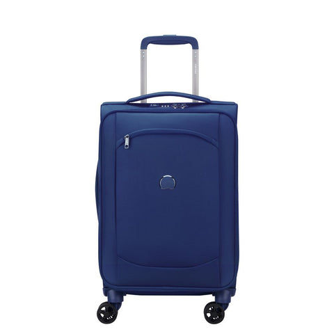 Delsey Montmartre Air 2.0 Cabin/Carry On 55cm Blue Soft Suitcase