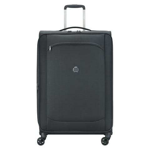 Delsey Montmartre Air 2.0 Large 77cm Black Soft Suitcase