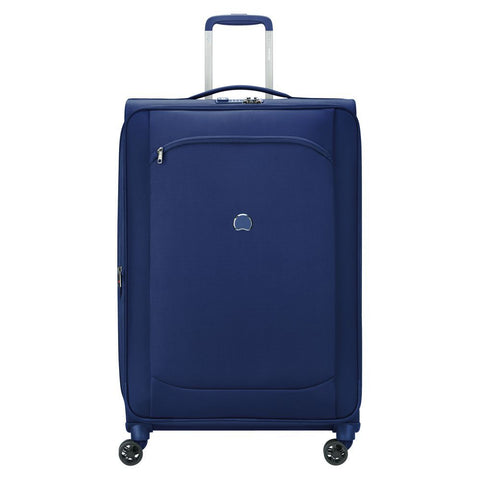 Delsey Montmartre Air 2.0 Large 77cm Blue Soft Suitcase