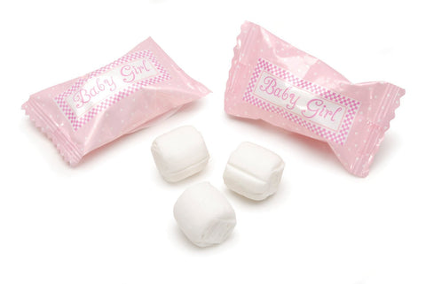 One Pack of 50 Piece It's a Girl Buttermints, 7 Ounce