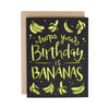 Hope your Birthday is Bananas Laser Cut Card