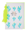 Cactus & Tassel Birthday Card