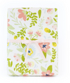 Cream Floral Gift Wrap