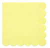Pale Yellow Large Napkins