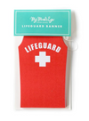 Pool Party Life Guard Banner