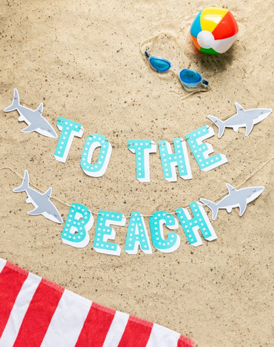 To The Beach Banner