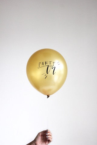 Party On Balloons