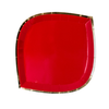 Red Posh Dinner Plate