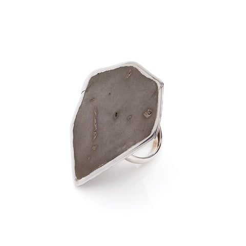 Meteorite Ring - One-of-a-Kind
