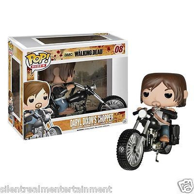 The Walking Dead Daryl Dixon with Chopper Pop! Vinyl Vehicle #08 by Funko