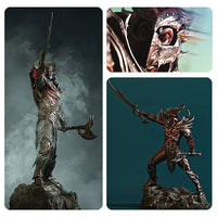 Elder Scrolls V Skyrim Daedric Warrior Armor 16 1/2-Inch Statue by Gaming Heads