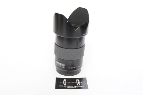 Hasselblad HC 50mm f3.5 with hood