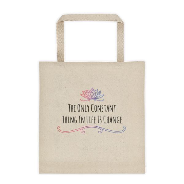 constant+change tote bag