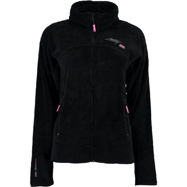 Geographical Norway GEOGRAPHICAL NORWAY FLEECE TRØJE Dame UNIFLORE Fleece Black