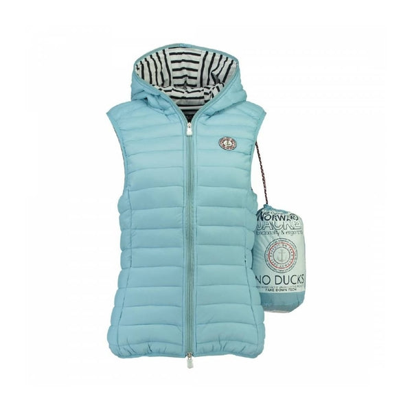 Geographical Norway GEOGRAPHICAL NORWAY Vest Dame VINETTE LADY Vest Light blue