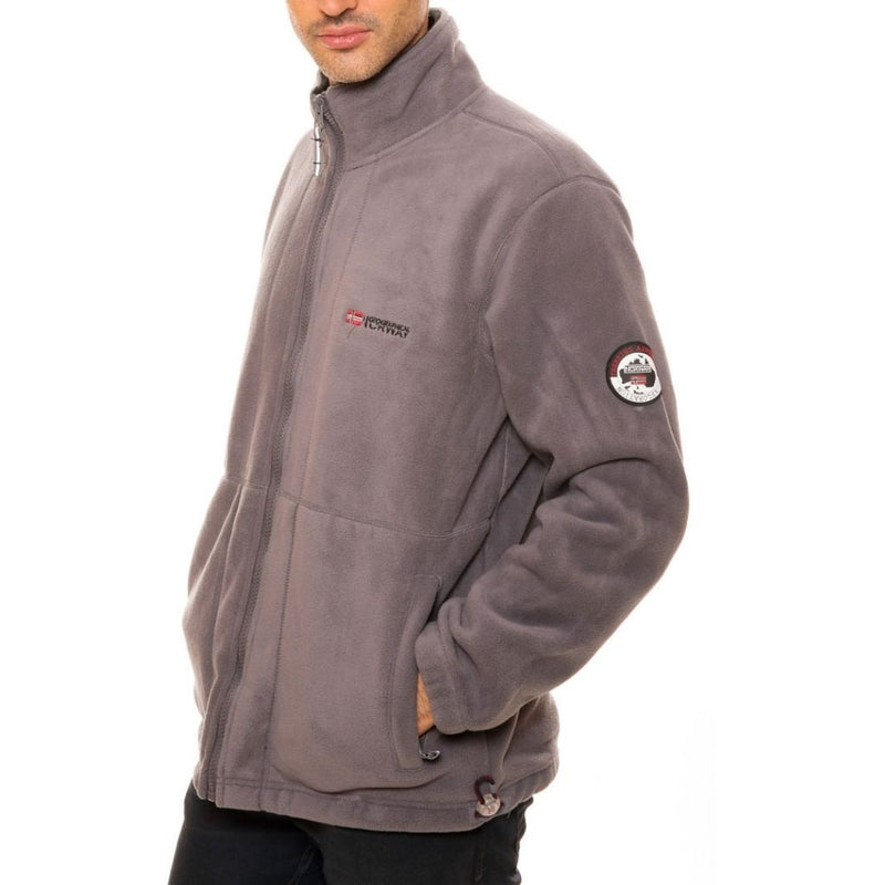 Geographical Norway Georaphical Norway Fleece Korleon Fleece D.grey/black