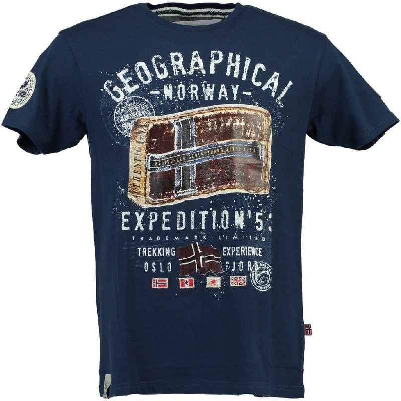 Geographical Norway geographical Norway T-shirt Jilliam T-shirt Navy