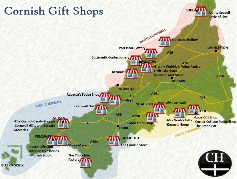 Gift Shops In Cornwall