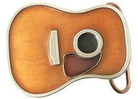 Acoustic Guitar Belt Buckle