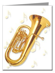 Note Cards - Euphonium Note Cards