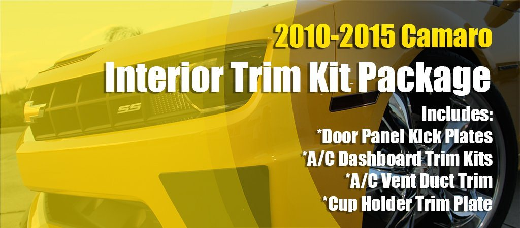 2010-2015 Camaro Interior Trim Kit American Car Craft
