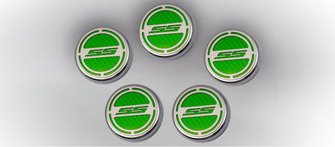 2010-2019 SS Camaro Engine Fluid Cap Cover Set (Automatic)