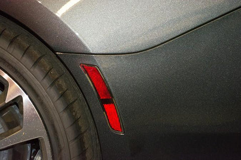 2016-2017 Chevy Camaro - Side Marker Trim Kit | Polished or Brushed 4pc