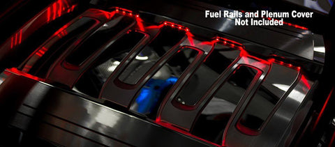 2016-2019 Camaro - Illuminated Fuel Rail Kit