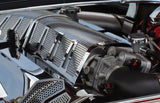 Challenger/Charger/Magnum/300 SRT 8 6.1L Plenum Cover Perforated Illuminated 2008-2011 American Car Craft