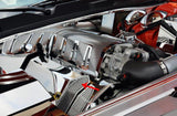 Challenger/Charger/Magnum/300 SRT 8 Fuel Rail Covers Polished/Perforated (Factory Air Box) 2008-2011 American Car Craft